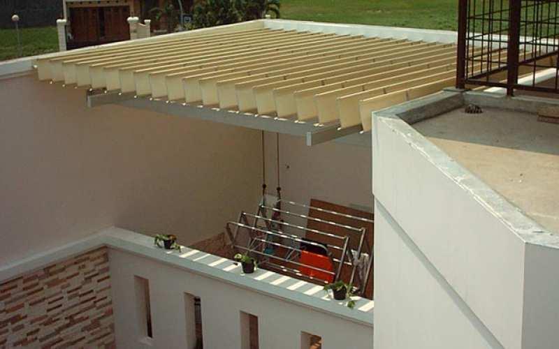 The Roof Canopy Clothesline  Canopy  Aluminium