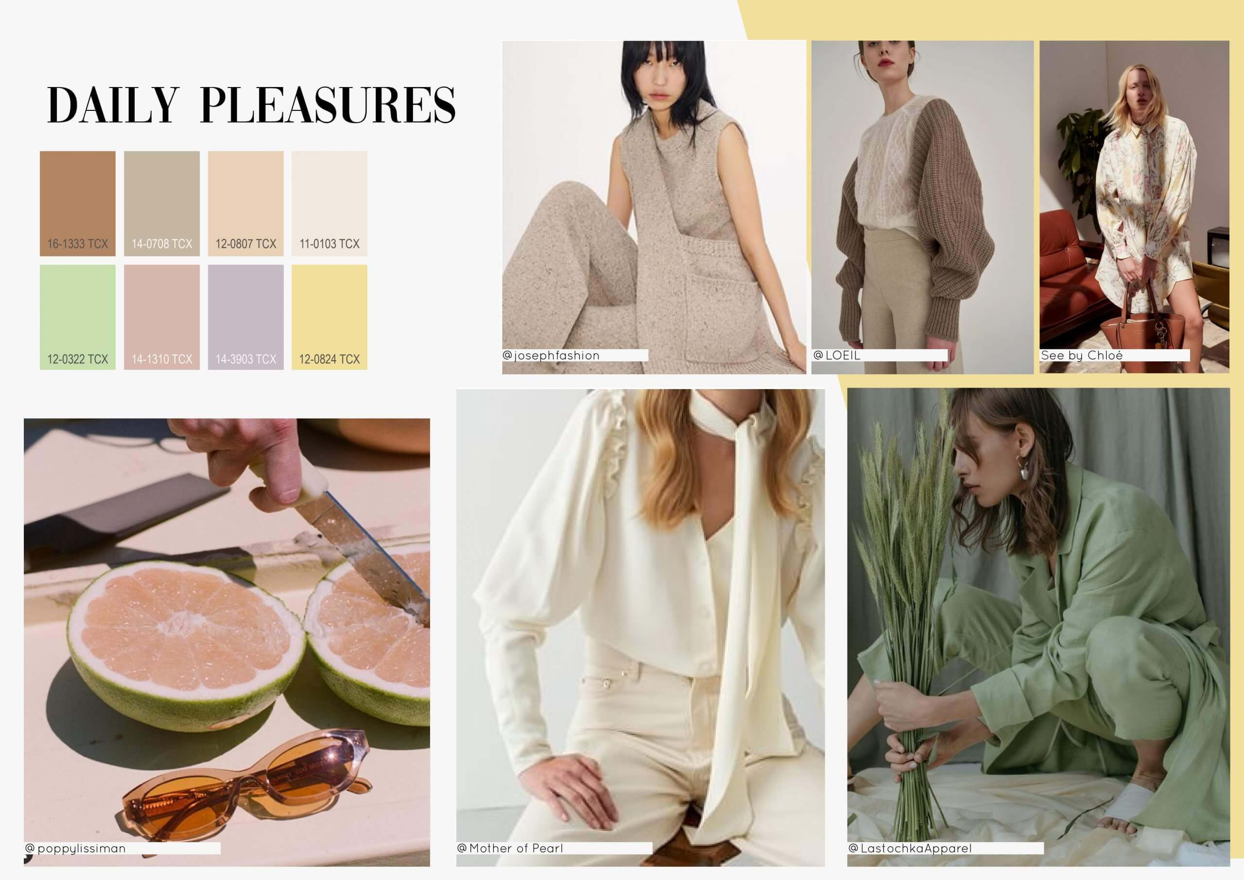 2022 Spring Summer Color Trends