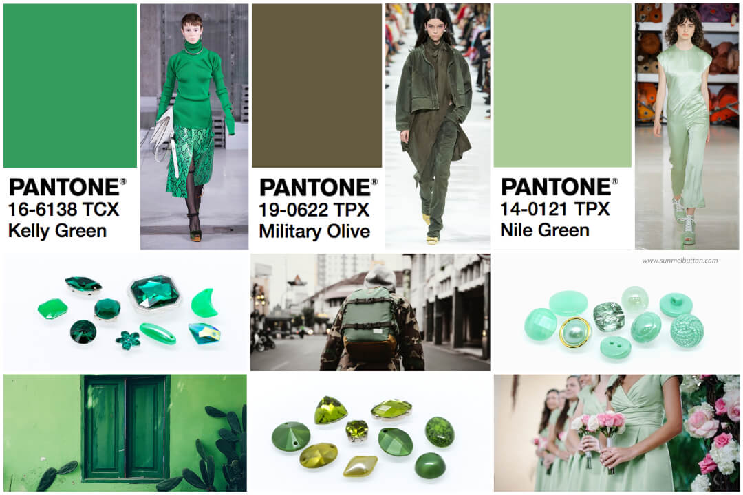 2018 color trend green