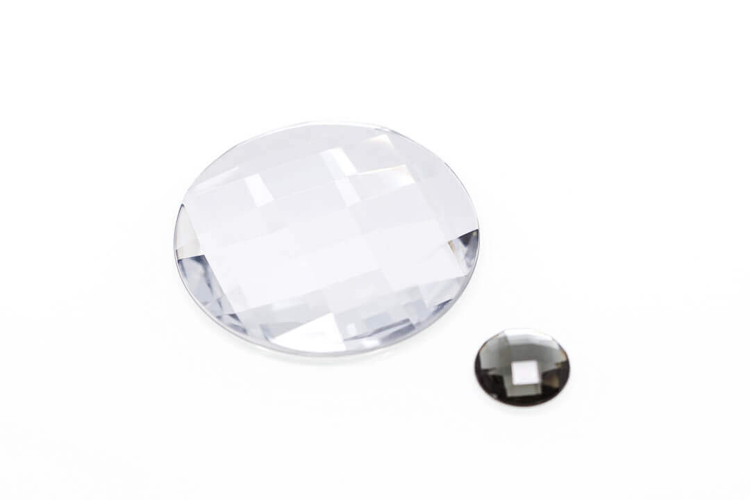 large flat back rhinestones, large plastic gems