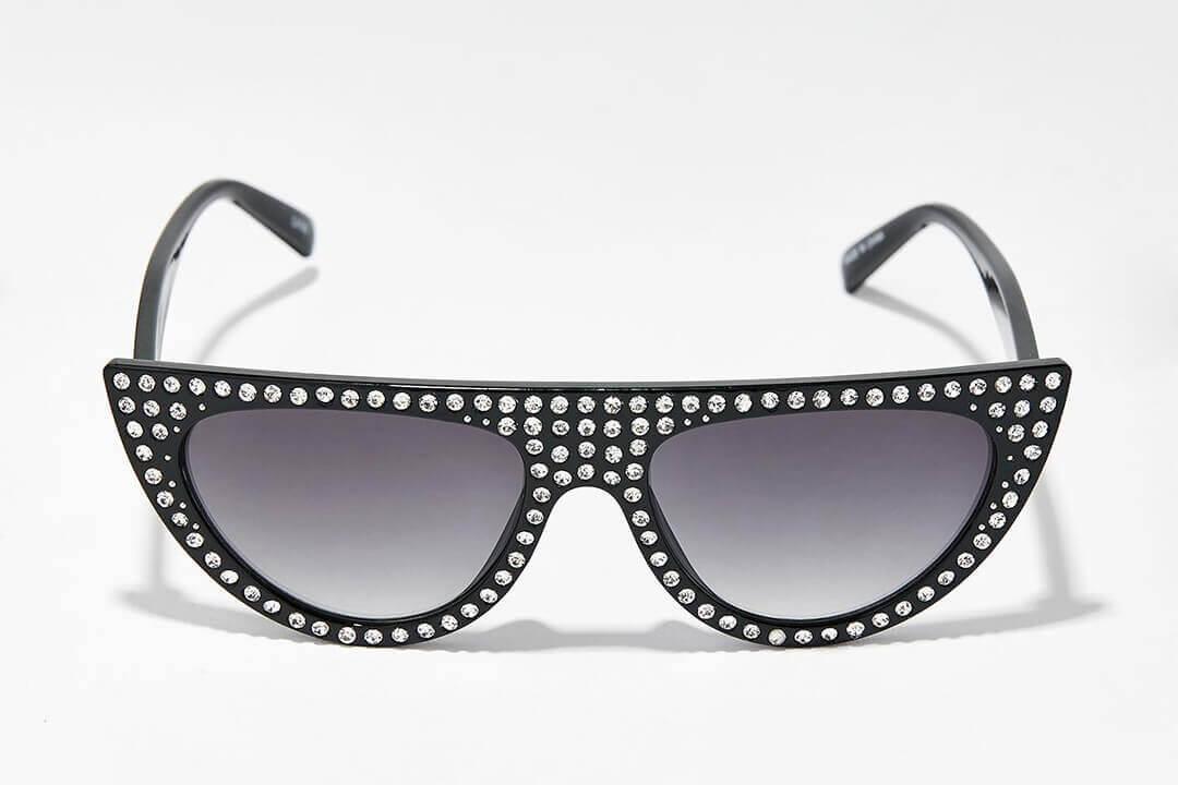 太陽眼鏡設計,添加水鑽元素讓眼鏡超有個性