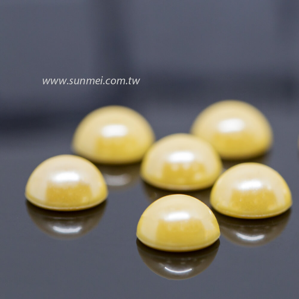 flat back pearl beads
