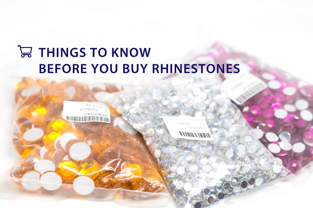 Where to buy sew on rhinestones? Things to know before you buy rhinestones