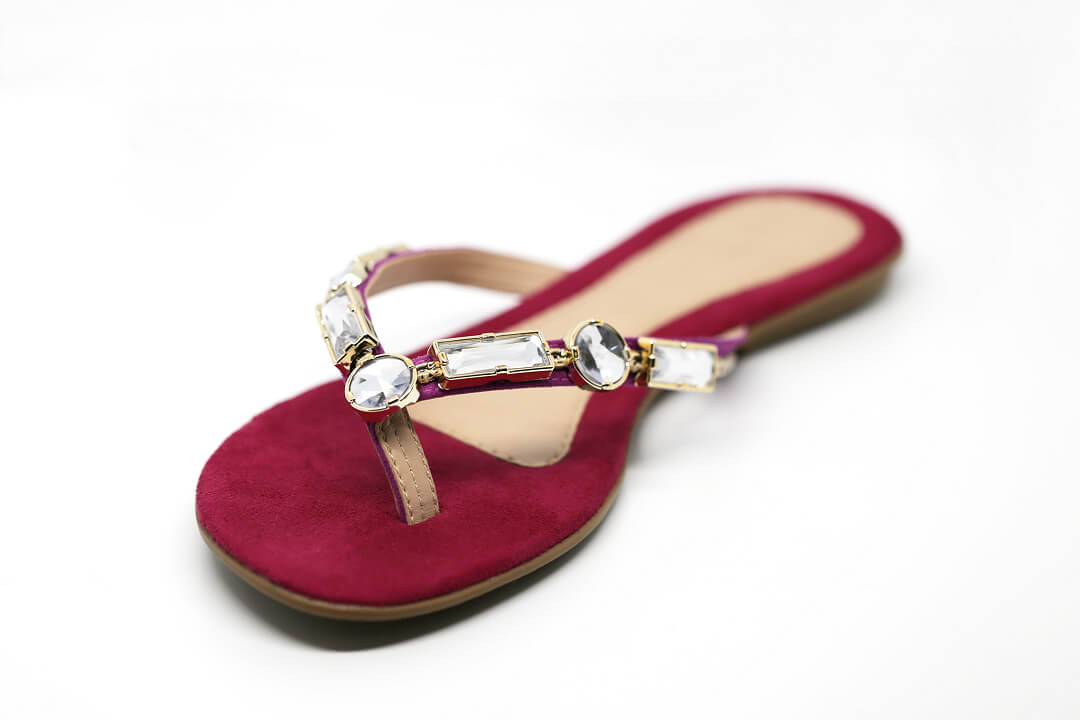 rhinestone shoes-rhinestone slippers-3