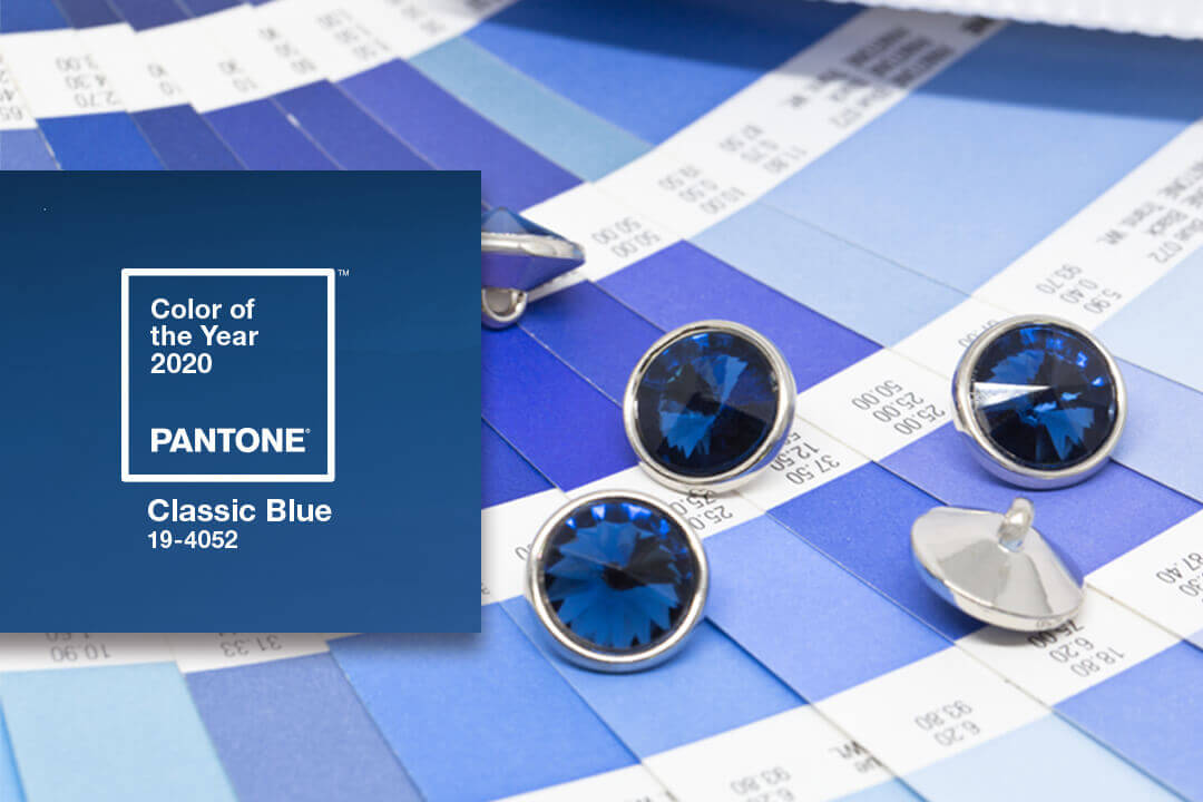 How To Incorporate Blue Buttons Using The Pantone Color of The Year 2020