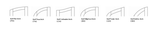 small resolution of arched top designs half