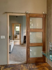 Sliding Barn Doors Don't Have to be Rustic!