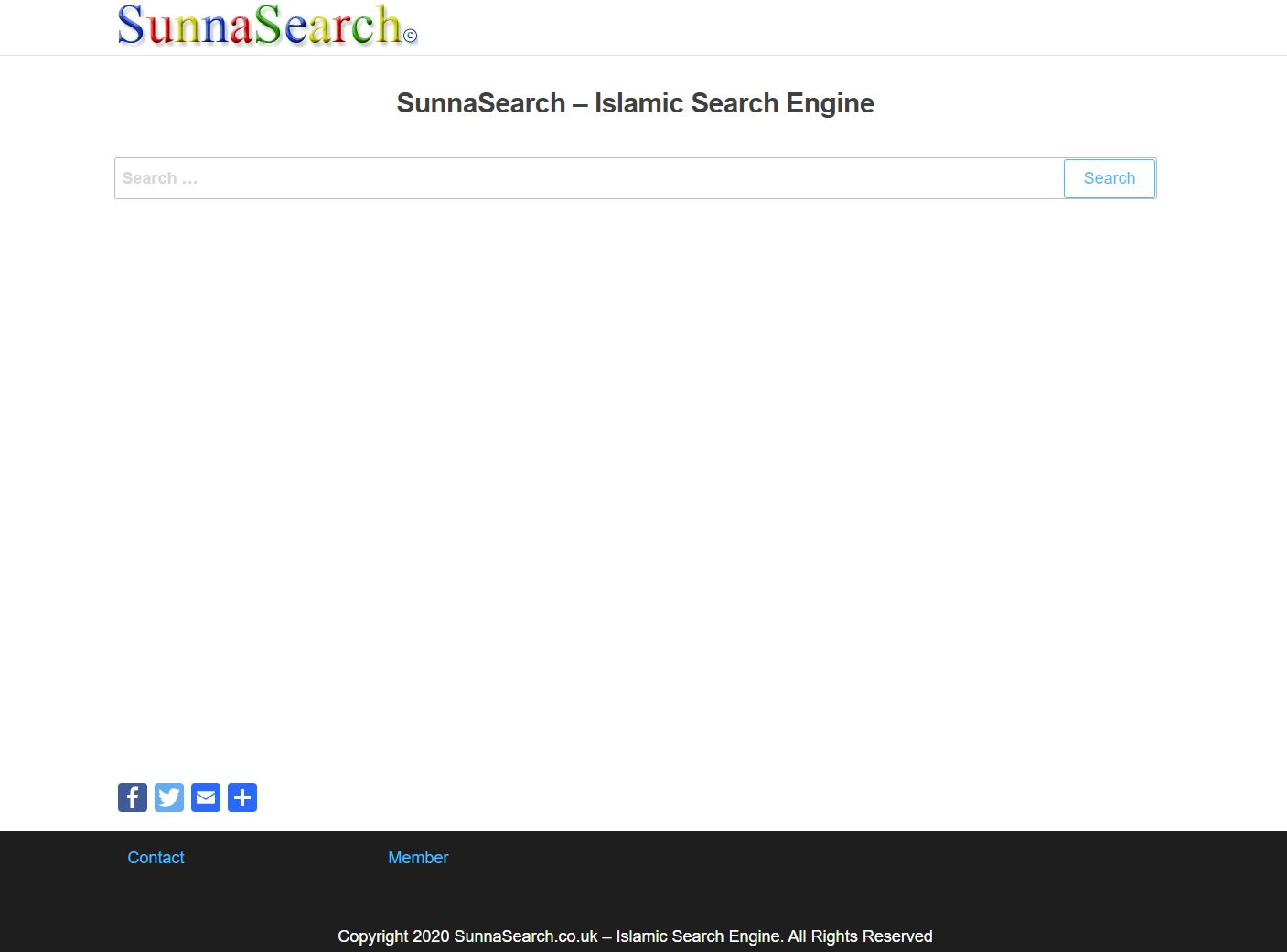 Muslim Search Engine