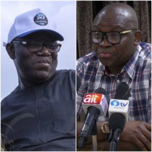 Image result for I'm still in charge of Ekiti – Fayose tells Fayemi