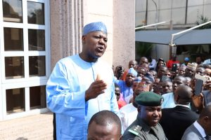 Dogara to CONTEST in 2019, silent on party