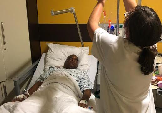 Kalu undergoes surgery in Germany, not in coma says wife