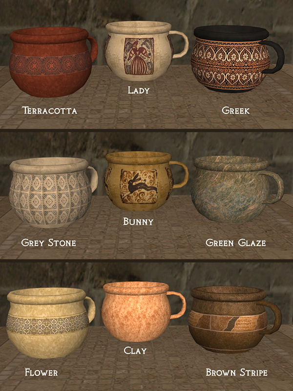 The Medieval Smithy SIMS 2 Chamber Pot and Bowl Sink