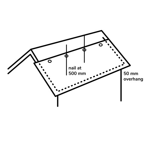 small resolution of installing the roofing felt