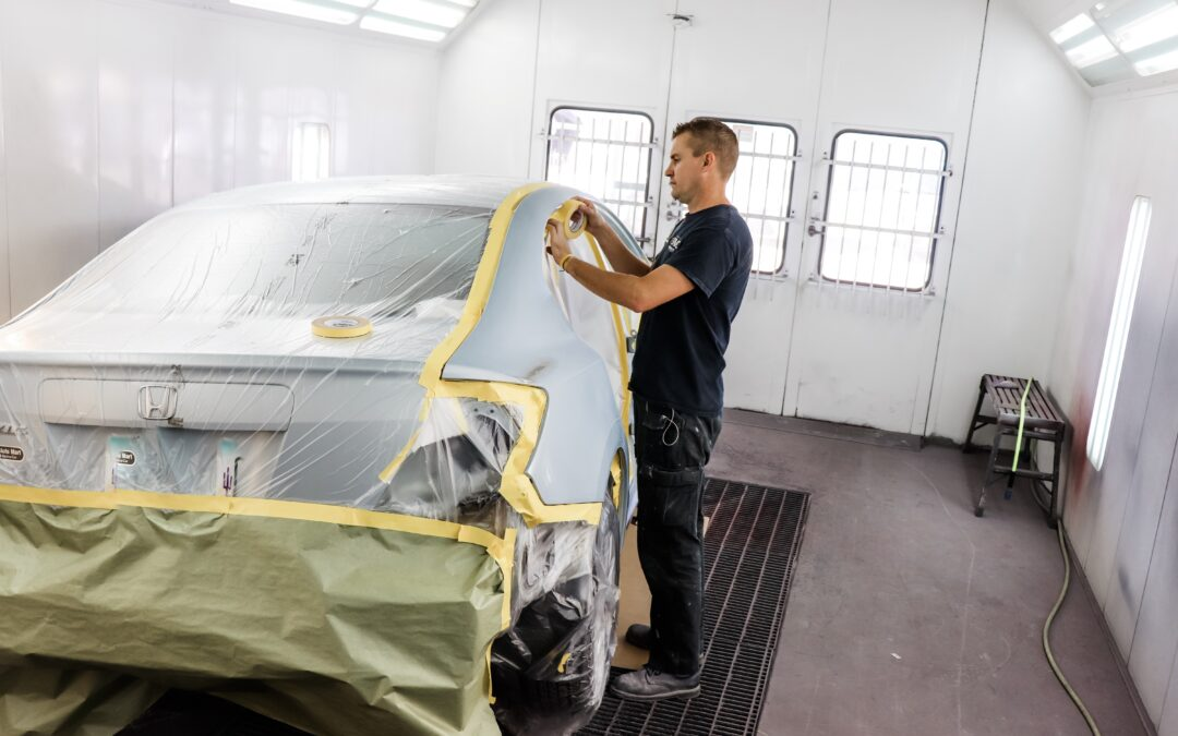 Auto Paint Repair Shop