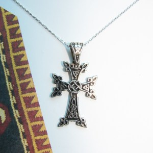 Armenian Cross Sterling Silver 925