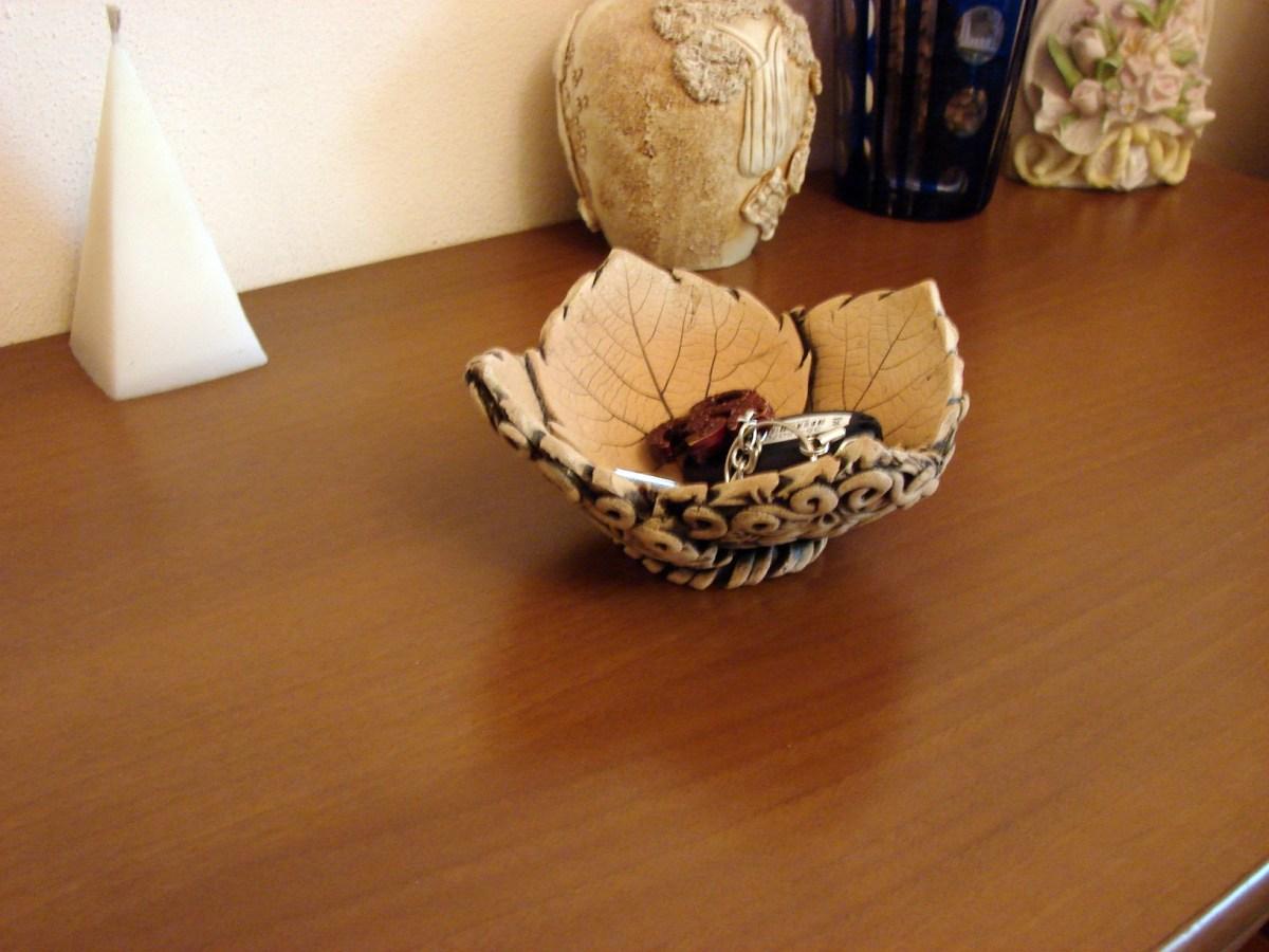 Handmade Pottery Vase, Ceramic Bowl, Candy vase, Key tray, soap dish