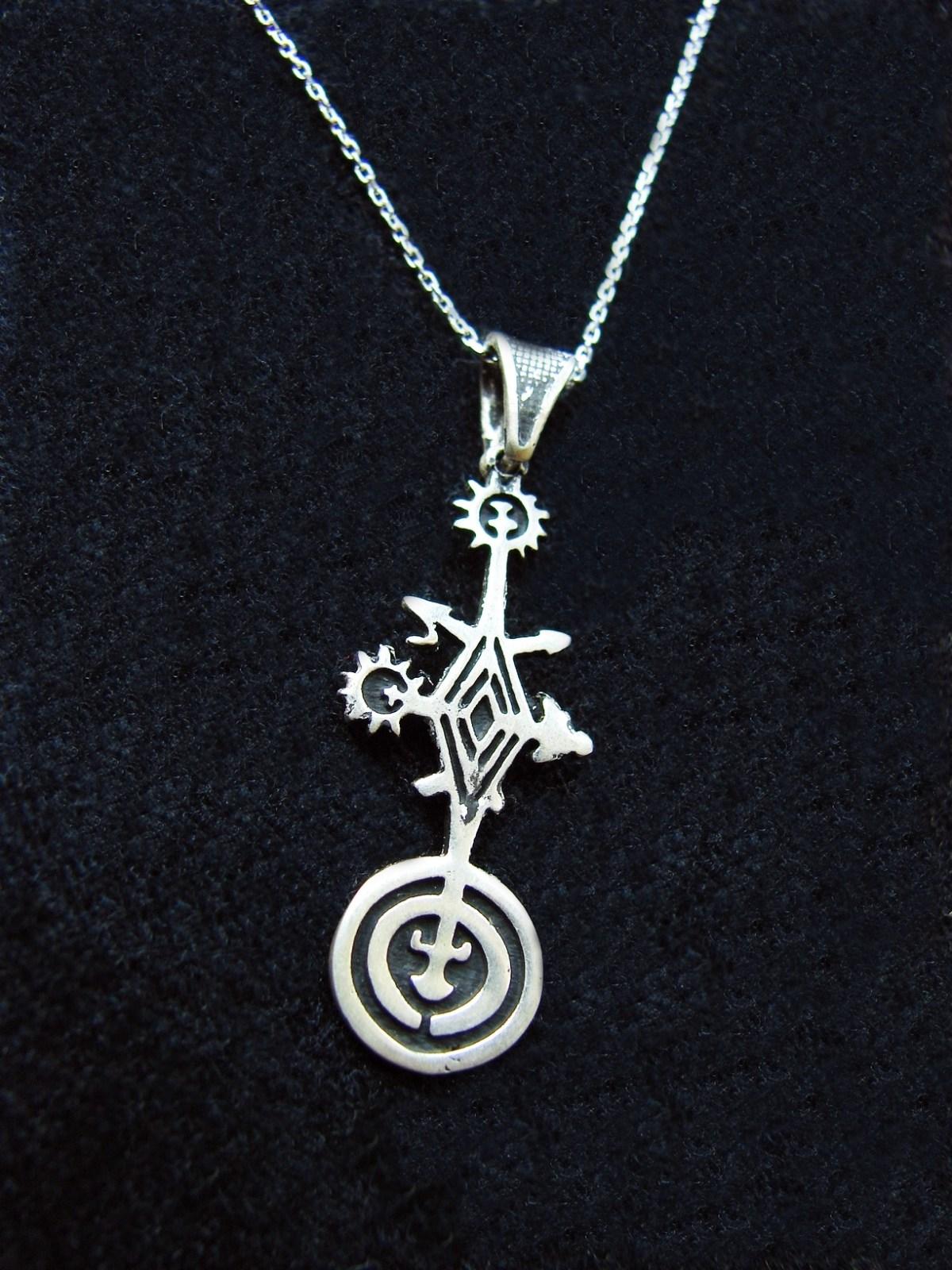 Pendant Solar System, Solar Symbol, Sterling Silver 925