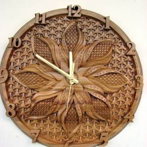 Wall Wooden Clock