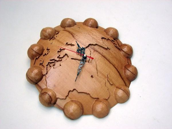 Wall Wooden Clock