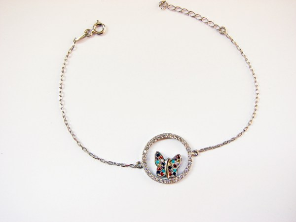 Butterfly Bracelet Sterling Silver 925