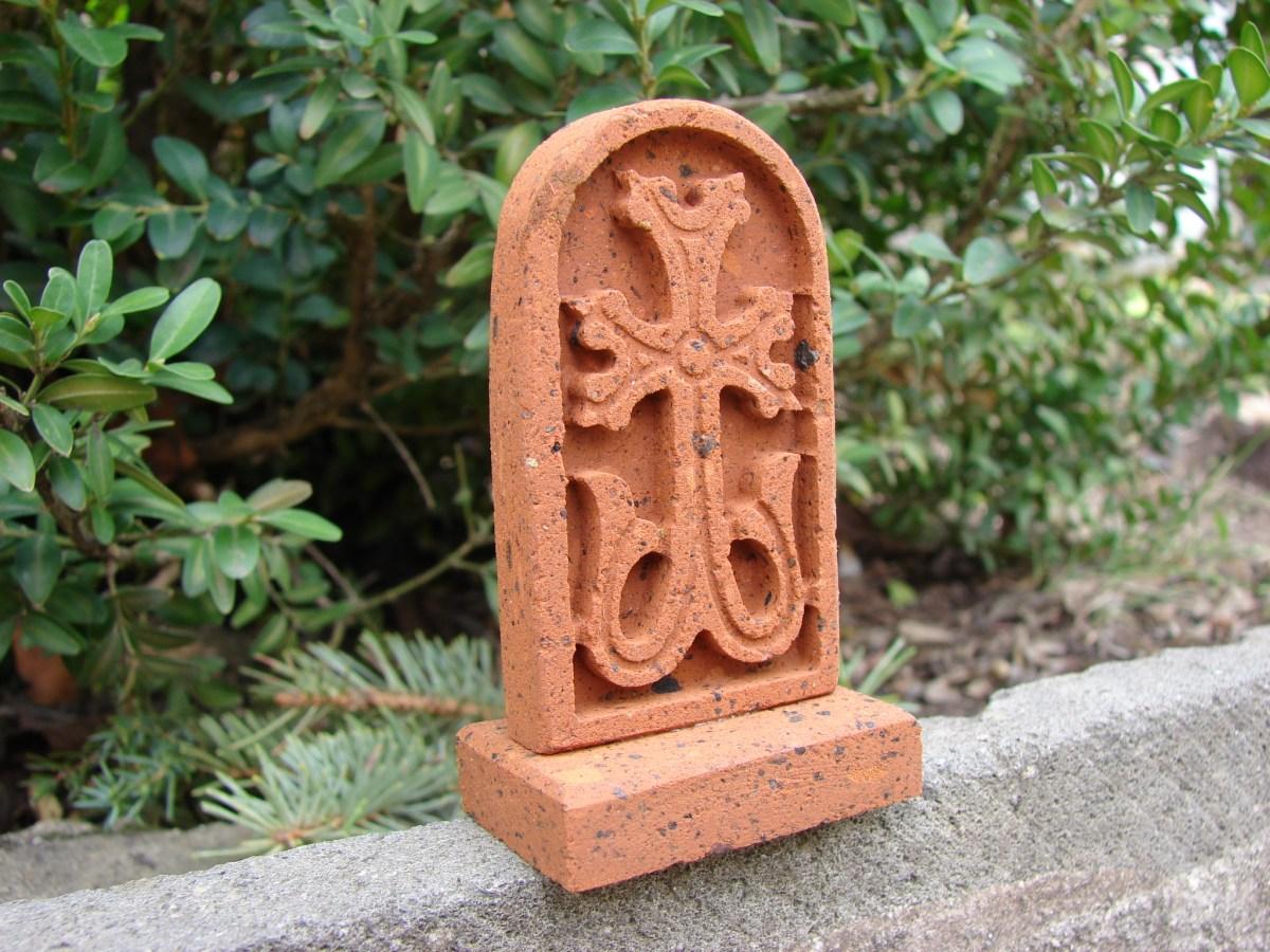Khachkar Armenian Cross Stone, Tuff Stone Khachkar