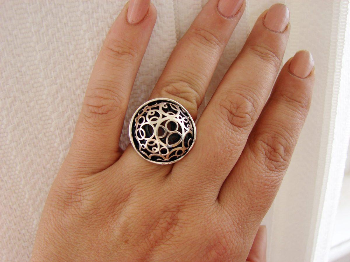 Large Openwork Ring