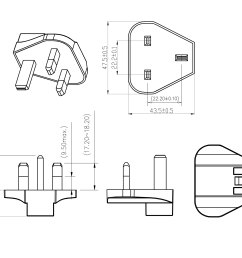 sys1621 w3u changeable ac pin png [ 2315 x 1736 Pixel ]