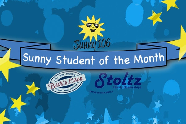Sunny Student of the Month