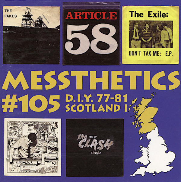 Various– Messthetics #105 : Scottish D.I.Y. And (Very) Indie Post-Punk 1977-81 Music Album Compilation