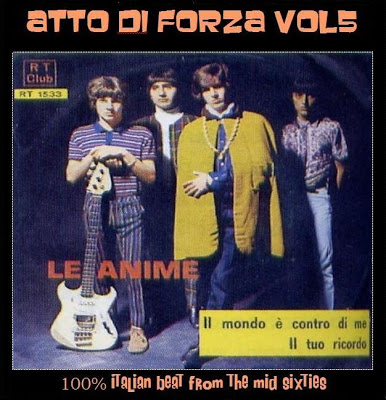 Various – Atto di Forza # 5-100% Italian Garage Beat Shake From Mid 60's Music Full Album Compilation