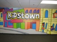Kidstown wall mural