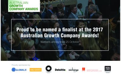 Sunnyfield is proud to be named a finalist at the 2017 Australian Growth Company Awards