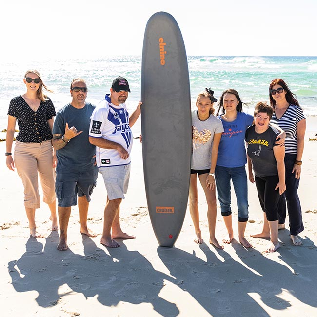 Donation-of-surfing-lessons-at-Tweed-Heads