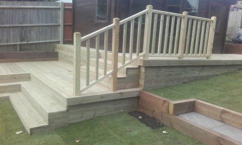 Sunny Gardens | Decking , Leveling and Other Structures