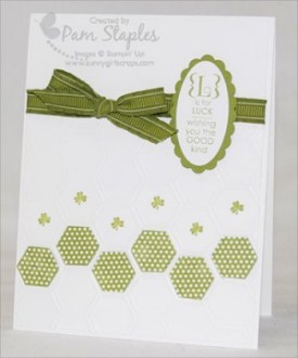 Go Green St. Patrick Day Card