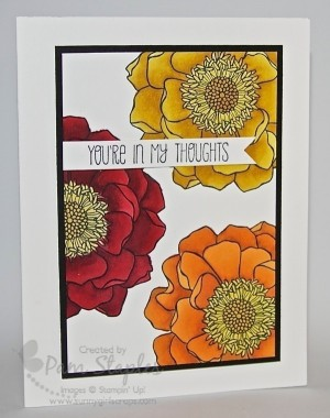 Blended Bloom with Stampin' Blendabilities