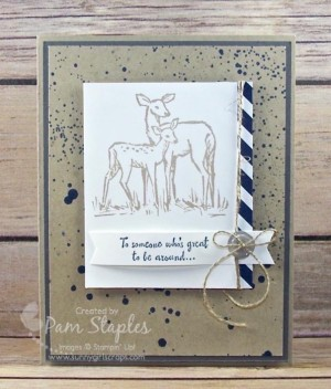 In The Meadow Masculine Card created by Pam Staples for the Can You Case It? Challenge 113. #pamstaples #sunnygirlscraps #stampinup #canyoucaseit #inthemeadow