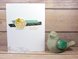 Six-Sided Card-A-Latte #stampinup #pamstaples #sixsided