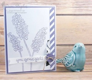 Helping Me Grow on SUO Challenge 144 #pamstaples #stampinup #helpingmegrow
