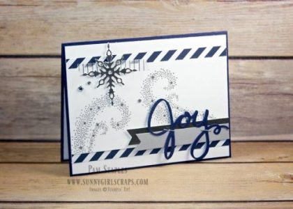 Star of Light Silver Christmas Card created by Pam Staples for the Paper Craft Crew Card Sketch Challenge #211. You are invited to play along with the Paper Craft Crew. Visit my blog at www.sunnygirlscraps.com for more information. Play along at www.papercraftcrew.com #staroflight #cardsketch #sunnygirlscraps #papercraftcrew #pcc2016