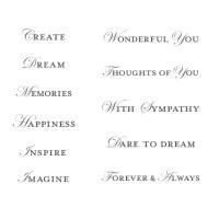 Loving Thoughts Stamp Set