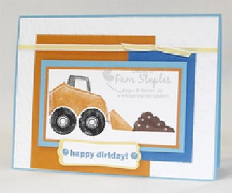 Stampin' Up! I Dig You Stamp Set