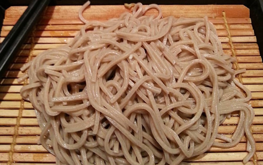 cooked soba