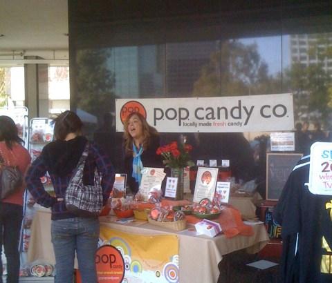 Pop Candy Co at LA Food Fest