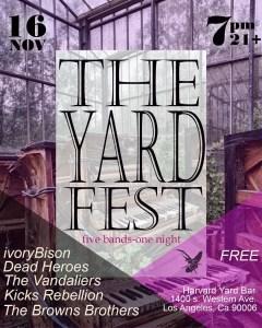 Harvard Yard Fest