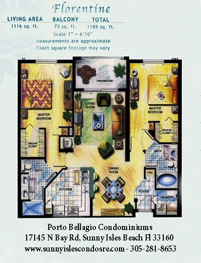 Florentine Floor Plan