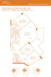 St Tropez Floor Plan A