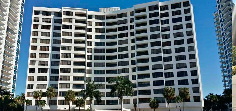 the Alexander Towers Condominiums