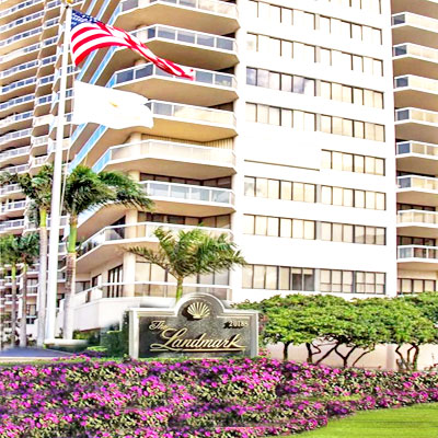 the landmark condominium complex