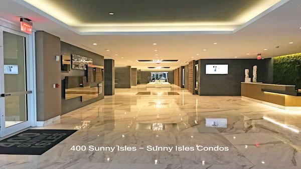 400 sunny isles lobby